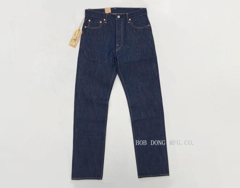 6e495d08b0e6 Acquista BOB DONG Vintage 14.5oz Jeans Uomo Jean Selvage Dritto ...