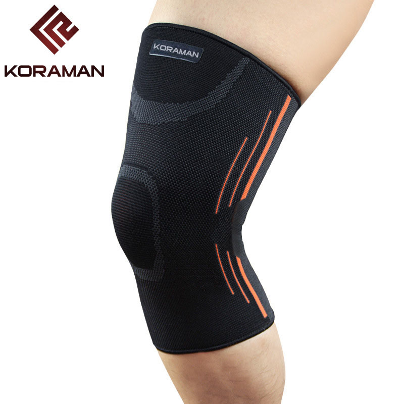 High Quality 2020 Outdoor (2piece/lot) Stretch Mens Sport Hiking Mountain Climbing Anti-skid Protection Knee Sleeve Wholesale