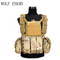 3 Litres of Water Bag Military USMC Tactical Combat Molle RRV Chest Rig Paintball Harness Airsoft Vest Multicam Airsoft