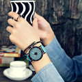 Classic Simple Star Women Watch Men Top Famous Luxury brand quartz watch Leather Student watches For Loves relogio feminino