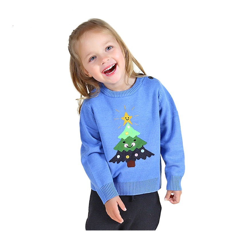Fashion-Children-sweater-Christmas-tree-Kids-winter-clothing-Knitting-baby-outerwear-Girls-And-Boys (2)_