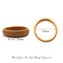 Handmade Grass Woven Bracelet