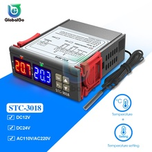 Temperature Controller Temperature Thermostat 12V 24V 110V 220V STC 3018 Home Temp Temperature Control
