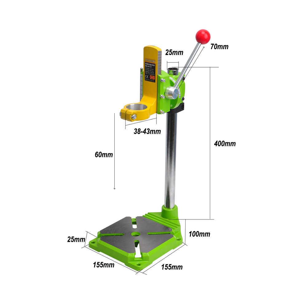 free shipment drill stand 0 90 degrees drill chuck 38 43mm drill holder press  [ 960 x 960 Pixel ]