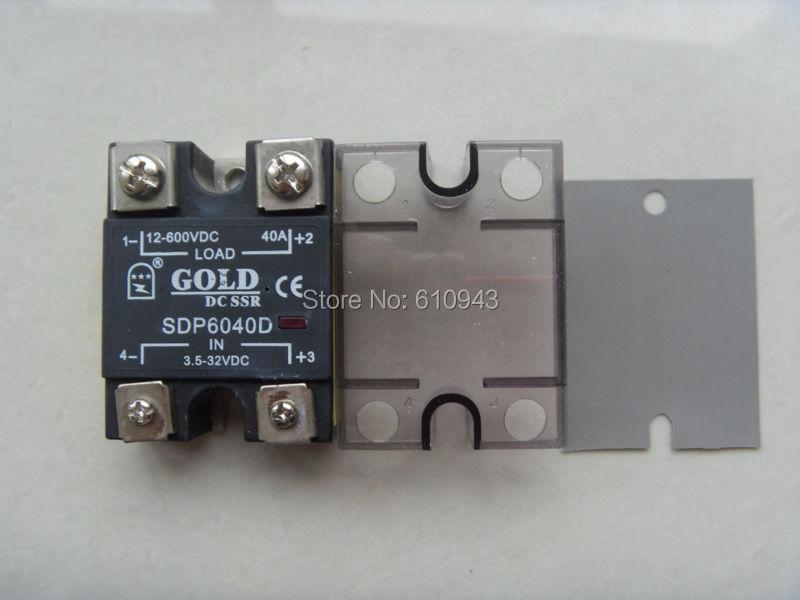 SDP6080D 80A SSR,Load voltage:12-600VDC,Control votlage:3.5-32VDC or 3.5-32vdc Free Shipping karcher sdp 5000