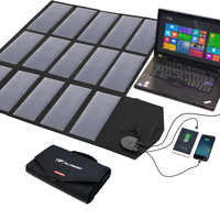 Cargadores de teléfono móvil ALLPOWERS cargador de teléfono inteligente 5 V 12 V 18 V 100 W USB DC Paquete de batería del Panel Solar para teléfonos móviles tableta portátil