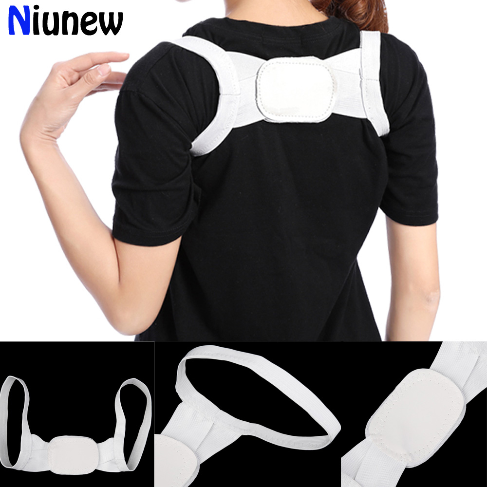New Unisex Back Brace Support Shoulder Belt Corrector Rectify Straighten Posture Correction Orthopedic Beauty Corset Back Belt