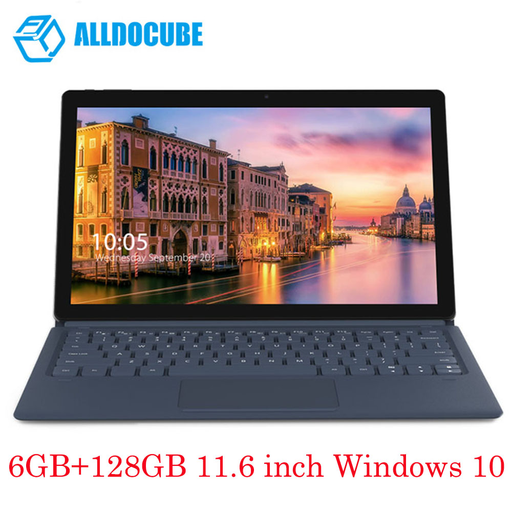 ALLDOCUBE KNote 2 in 1 Tablet PC Tab Pad+Keyboard 6GB+128GB 11.6 inch Windows 10 Intel Celeron N3450 Dual WiFi English Version