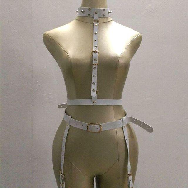 Новая мода металла кожаные ремни панк ретро белый пу пояса ремень аксессуары наконечник Ночной Клуб марка заклепки ремни женщины