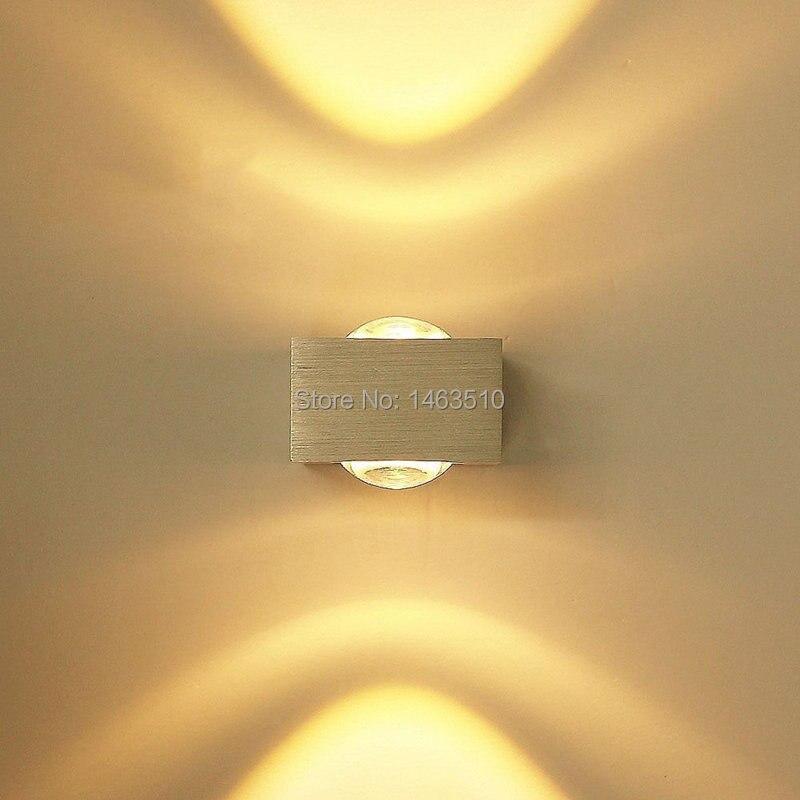 3W Aluminum Oval led wall lamp spot light Modern Home lighting ...