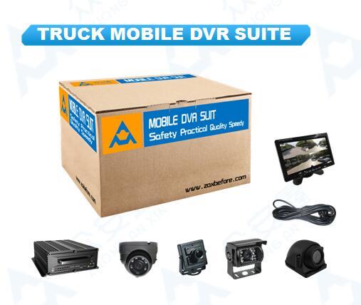 Грузовик MDVR suite 6 камер D1 Видео 3G GPS автомобиля Управление Системы