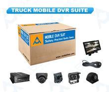 Truck MDVR Suite – 6 Cameras  D1 Video 3G GPS Vehicle Management System