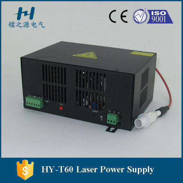Factory Wholesales Co2 Laser Lamp 60w T60 Laser Power Supply Hair Extensions & Wigs