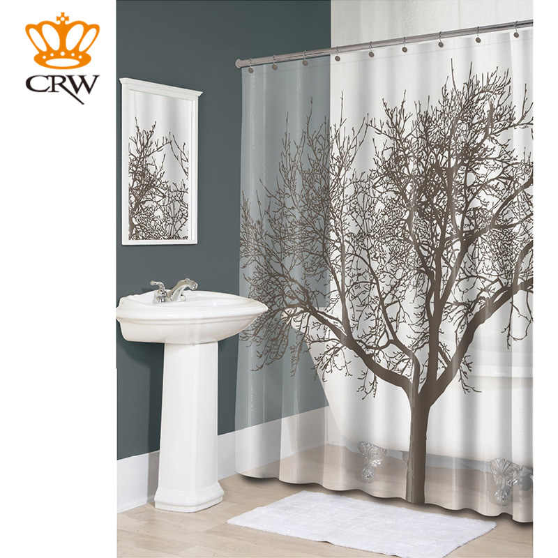 Detail Feedback Questions About Crw Shower Curtain Liner Set Nature