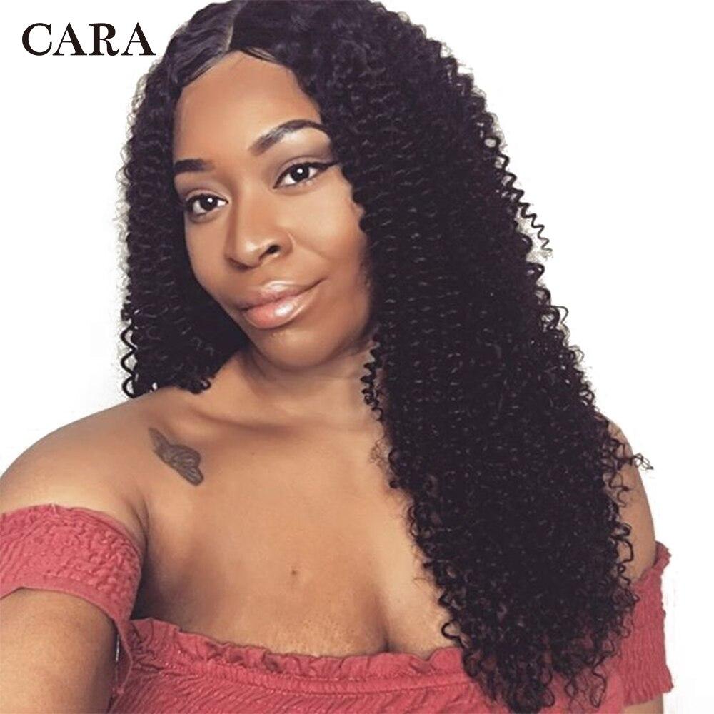 Плотность 250 странный вьющиеся Синтетические волосы на кружеве натуральные волосы парики для Для женщин предварительно сорвал бразильские...