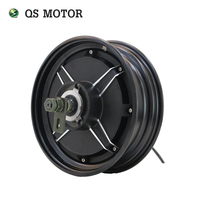 QS 10inch 1000W 205 40H V1 Brushless DC Electric Motorcycle Hub Motor