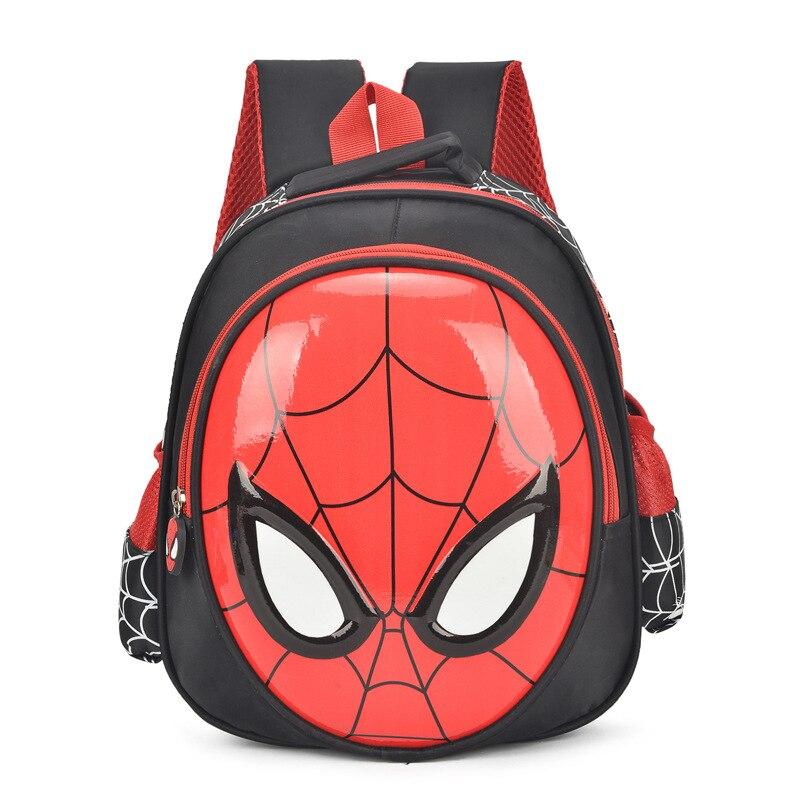2018 Hot 3d Del Fumetto Di Spider Man Bambini Sacchetto Di Scuola Gli Studenti Impermeabile Zaino Per Bambini Ragazzo Freddo Viaggi Sacchetto Della Cancelleria Regalo Del Bambino