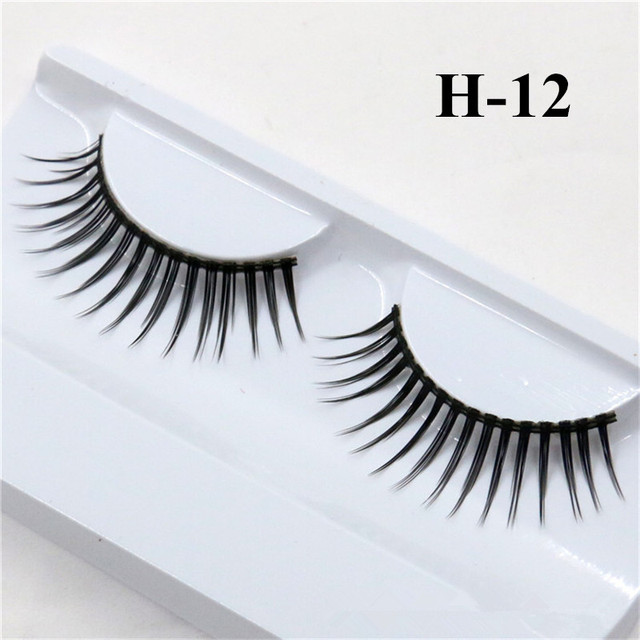 1 Pair False Mink 3D Eyelashes Natural Eyelash Extensions Cruelty Free Mink Lashes Eye Makeup Tools 4