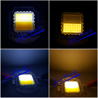 100W Double Color Warm White Cool White 30 36V 3A High Power LED Light Lamp