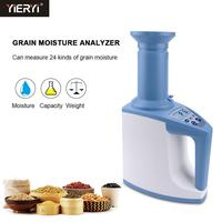 Yieryi Digital LDS 1G Grain Moisture Hygrometer Intelligent Automatic Humidity Detector for Rice, Wheat, Corn, Rapeseed