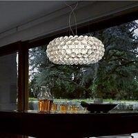 Фоскарини Caboche Бал Подвеска современные светодиодные лампы Спальня акрил Кухня дом 50 см шарик света включают лампы