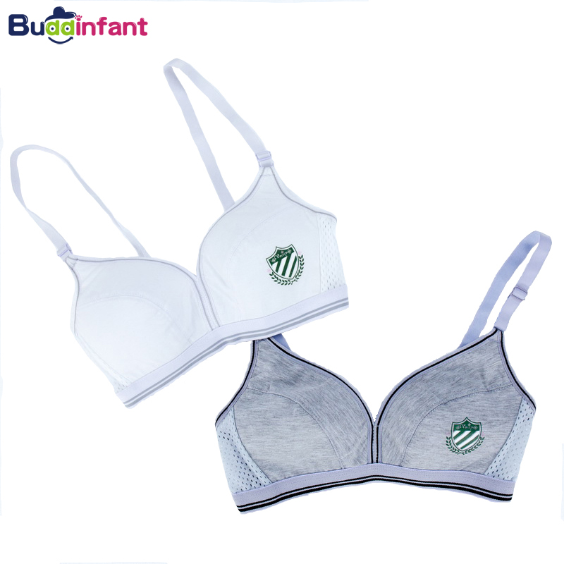 Teenage Girl Underwear Puberty Young Girls Small Bras Children Teens Training Bra For Kids Teenagers Lingerie Cotton Bamboo Soft