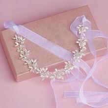 Cinta caliente Rhinestone Crystal Wedding Celada accesorios para El Cabello Diadema