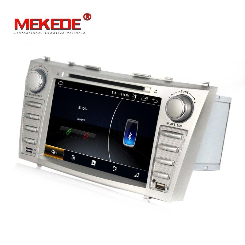 Vente chaude! Meilleur lecteur de radio dvd de voiture Android 8.1 pour Toyota camry 2007 2011 voiture dvd multimédia GPS navigation wifi bluetooth - 4