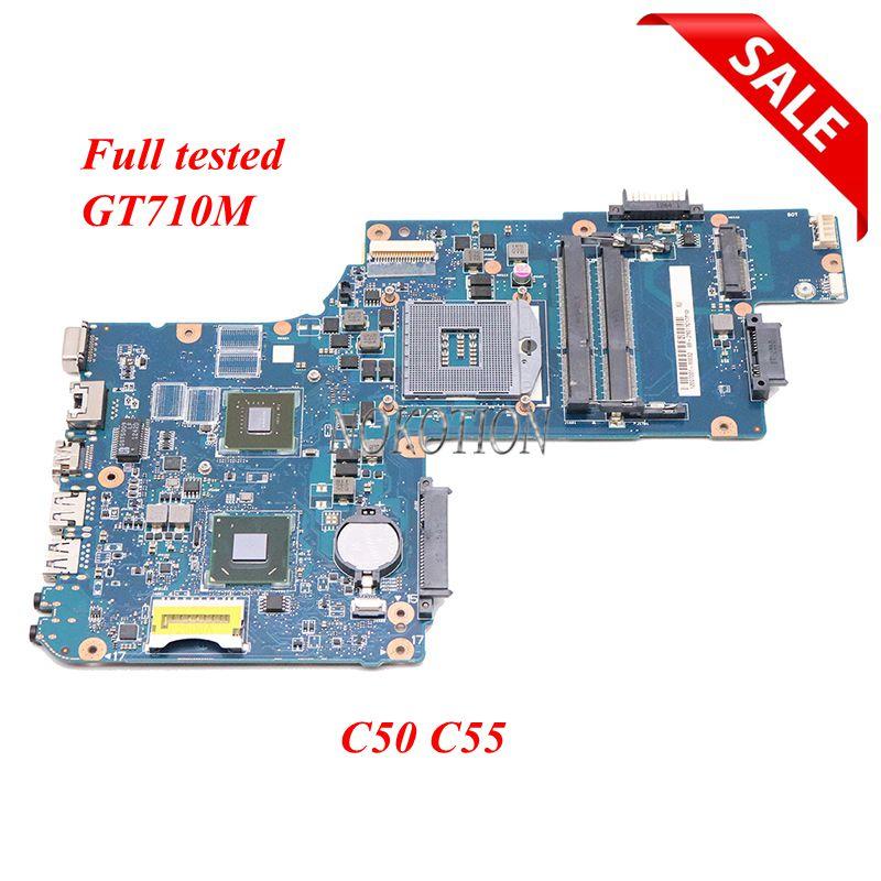 NOKOTION H000061960 PT10FG DSC MB H000062020 placa base de Computadora Portátil para Toshiba Satellite C50 C55 15,6 ''GT710M HD4000 DDR3 HM76 Procesador Intel Core™ i3-8100 3,6 Ghz 6 MB LGA 1151 BOX