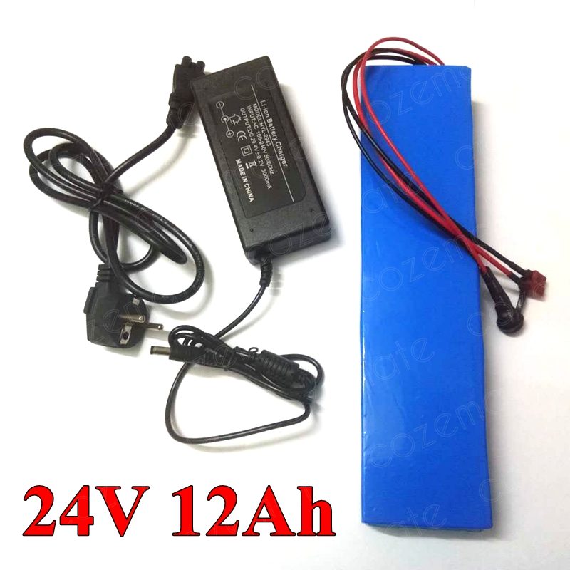 24v 12ah Lithium Ion Battery Electric Bike Batteries Pack 24 V 12ah for 350w Elecritc Wheelchair
