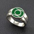 Викинг кольцо зеленый фонарь кольцо серебряное кольцо для мужчин superhero dc comics marvel фильм ювелирные изделия реплики мужчин класса кольцо