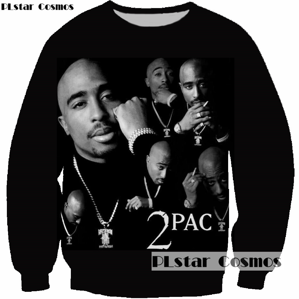 Lovely Plstar Cosmos Men Women Sweatshirt Rock Singer 3d Print 2pac Tupac Shakur Long Sleeve Man Casual Clothing Hoodies Plus Size 5xl Durable Service Men's Clothing