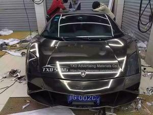 Image 5 - Película protectora de vinilo de Cromo Negro Flexible de la mejor calidad para La etiqueta engomada del coche película de espejo de cromo impermeable de burbujas sin aire