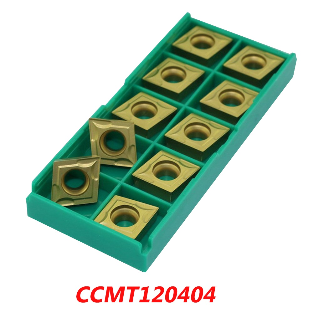 Free shipping CCMT120404 carbide inserts for face milling cutter SCLCR / RBH tools suitable for NC/CNC milling machine