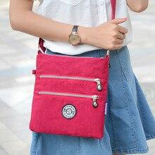 Женская непромокаемая нейлоновая сумка через плечо Повседневная дорожная женская сумка на плечо высокого качества женская сумка для сумки для девочек