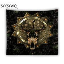 Europe astrology tapestry wall hanging goat head ouija blanket dorm decorative bohemia tarot tapestry