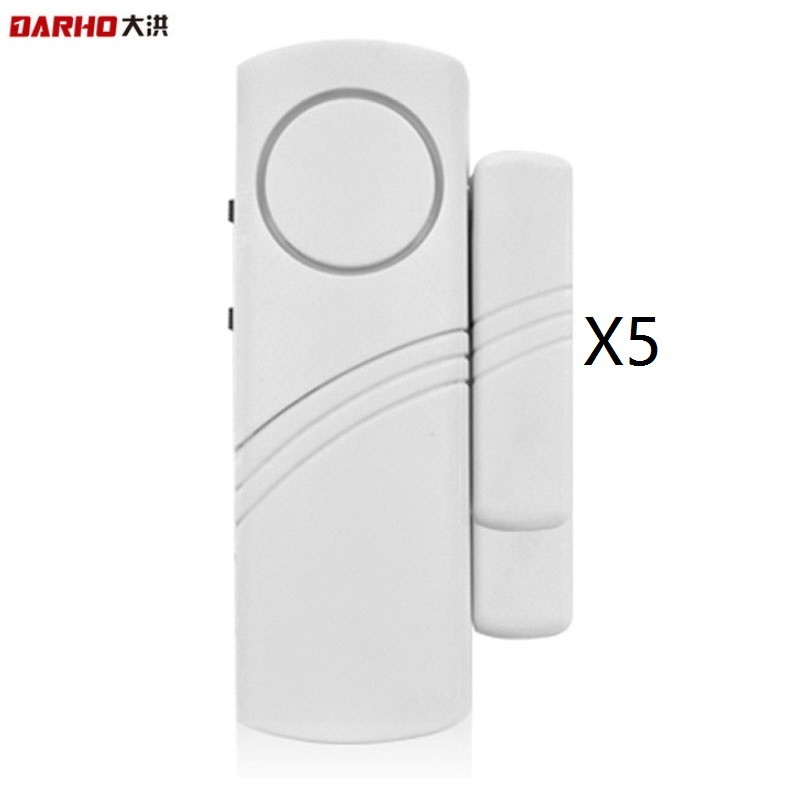 DARHO Sensors Protection High Quality LongeDoor Window entry alarm Wireless Burglar Alarm System Safety Security Pack