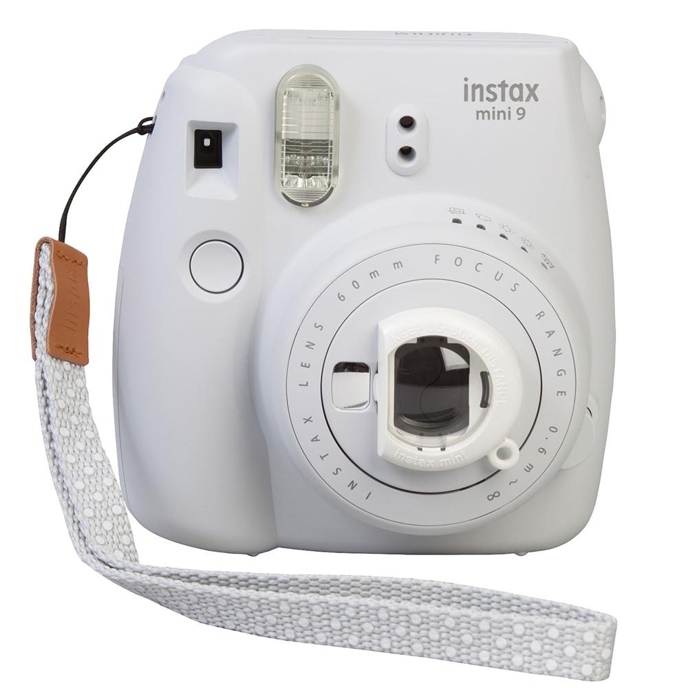 Livraison gratuite original de fujifilm caméra Instax Mini 9 nouvelle suite Instax mini caméra minuterie automatique film caméra d'imagerie rapide