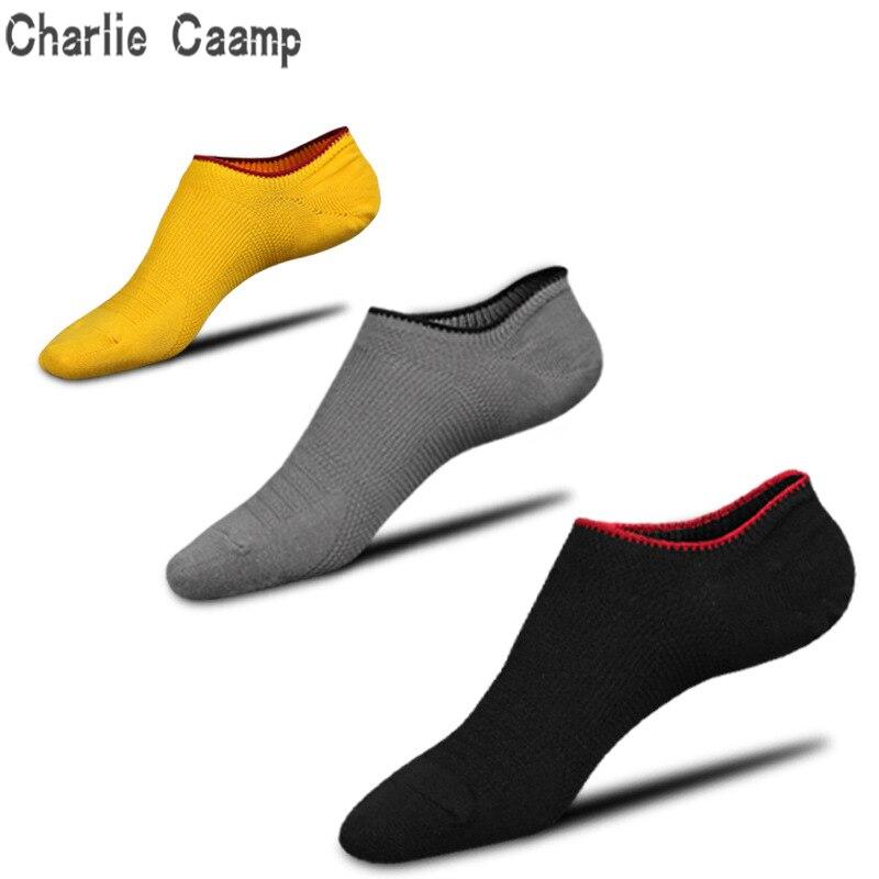 Charlie Caamp 100% Pure Cotton Mesh Men's   Socks