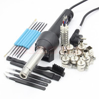 YIHUA 8858 I 220V 110V EU US 650W LCD Adjustable Electronic Heat Hot Air Gun Desoldering