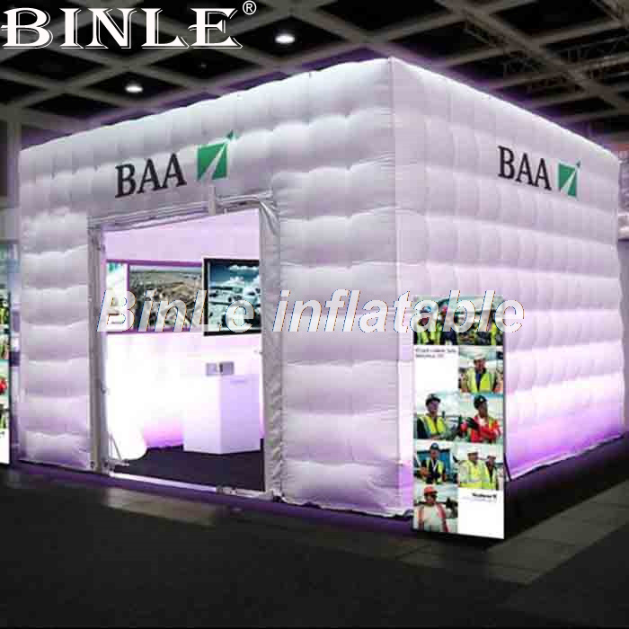 Customized Giant Outdoor Inflatable Tent With LED Inflatable Marquee Inflatable Cabin Tent For Events цены онлайн