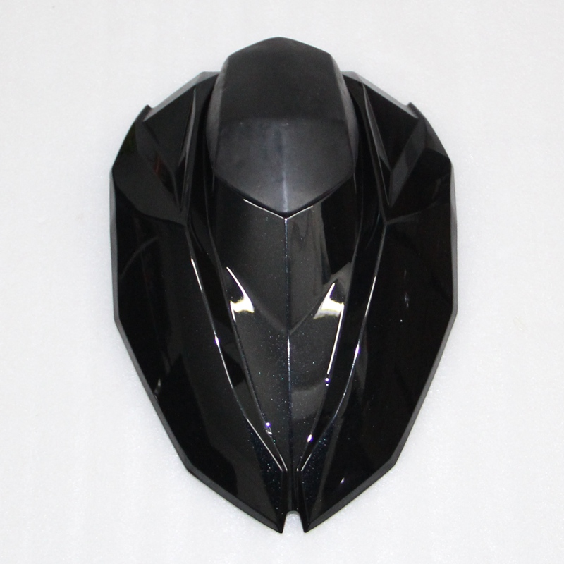 Black Motorcycle ABS Plastic Rear Seat Cover Cowl For Kawasaki  Z800 2013-2015 for 2002 2005 kawasaki ninja zx9r zx 9r motorcycle rear passenger seat cover cowl black 01 02 03 04 05