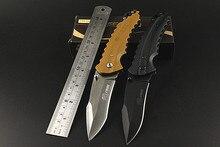 2016 Navajas Karambit Real Good Quality Utility Folding Knife,pocket Outdoor Survival G10 Fiber Board Handle Blade Fruit Gift