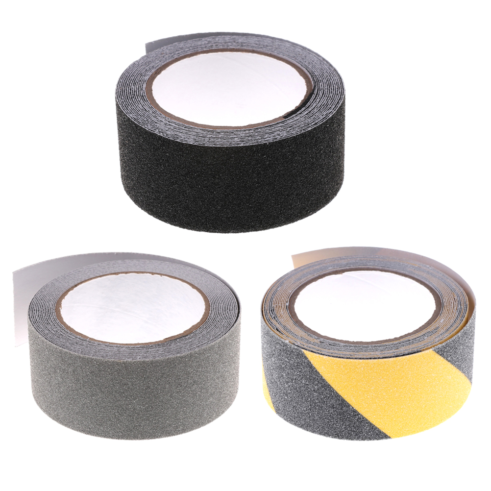 5m x 5cm Self Adhesive Colorful Floor Safety Non Skid Tape Anti-slip Safe Sticker High Grip