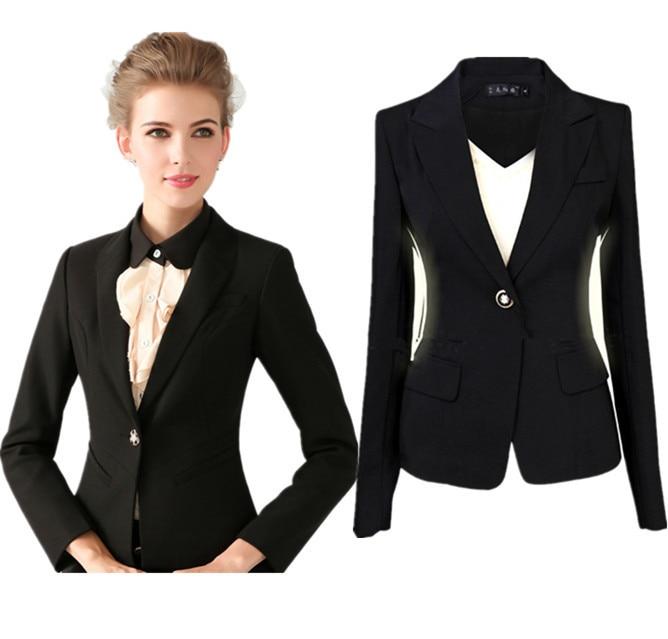 Black Formal Blazers For Women