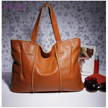 AIKEWEILI Genuine Leather Women Handbags Fashion Crossbody Bags Female Handbag Trend Bag