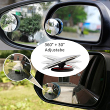 2 шт. зеркало заднего вида для салона автомобиля с поворотом на 360 градусов, Автомобильное Зеркало для слепых зон, автомобильные безопасные зеркала