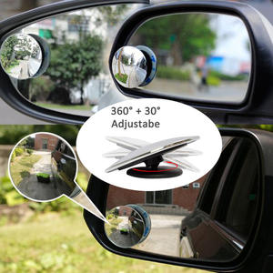 Rearview-Mirror Sub Rotatable 360-Degree Car-Interior 2PCS