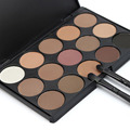 15 Color Cosmetic Matte Eyeshadow Cream Eye Shadow Makeup Palette Shimmer Set
