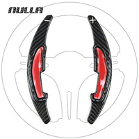 NULLA Accessories Steering Wheel Extension Interior Paddle Shift Shifter Carbon Fiber For BMW M2 M3 M4